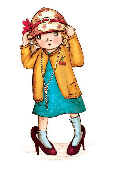 393x590 Dress Up Fashion Clipart For Children