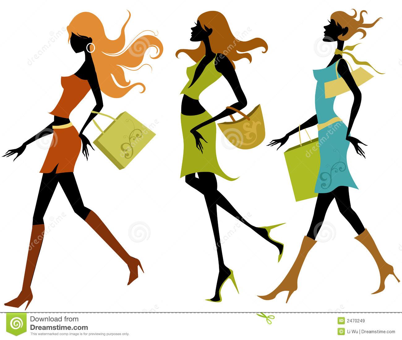 1300x1101 Ladies Fashion Clipart