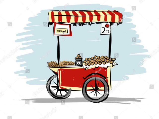 640x480 The Images Collection Of Free Everyday Fast Fast Food Cart Clipart