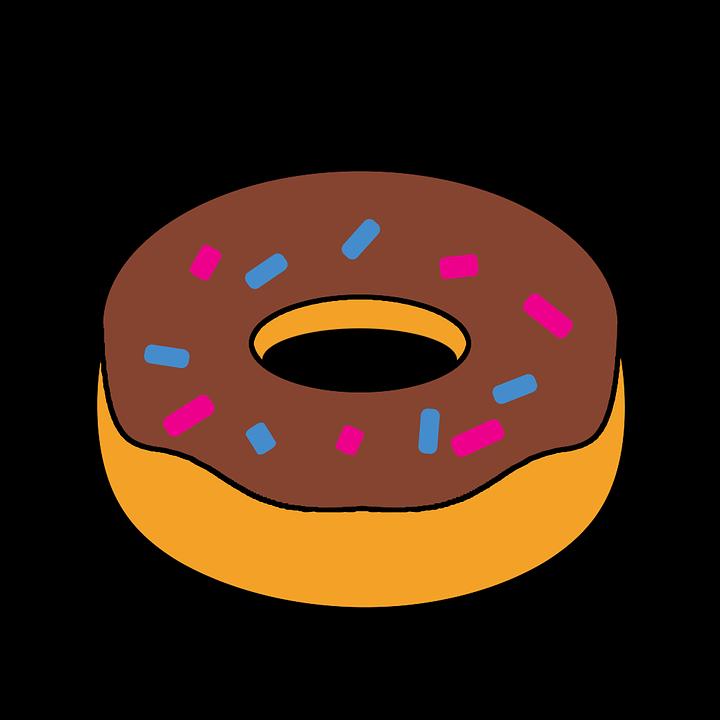 720x720 Free Photo Snack Food Cartoon Clipart Doughnut Fast Food