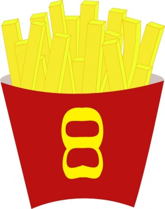 336x425 French Free Fries Clip Art Vector Clip Art Free Vector Free Download