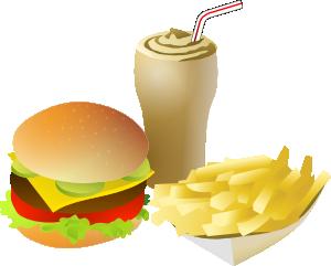 300x241 Srd Fastfood Menue Clip Art