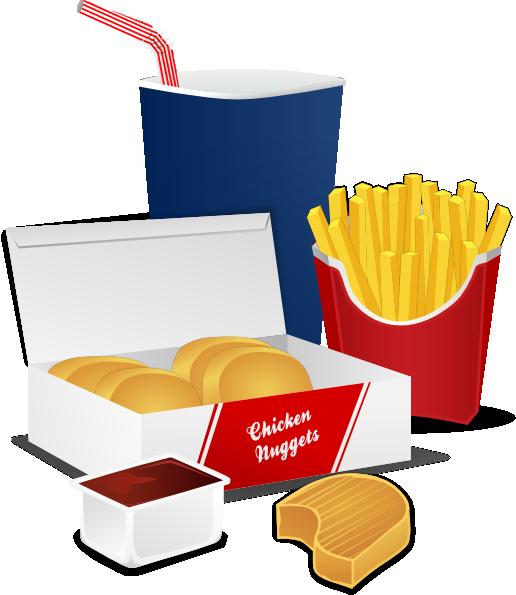 516x595 Fast Food Clip Art