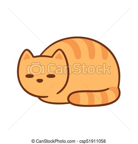 450x470 Fat Orange Cat Sleeping. Cat Loaf, Sleeping Fat Orange Cat