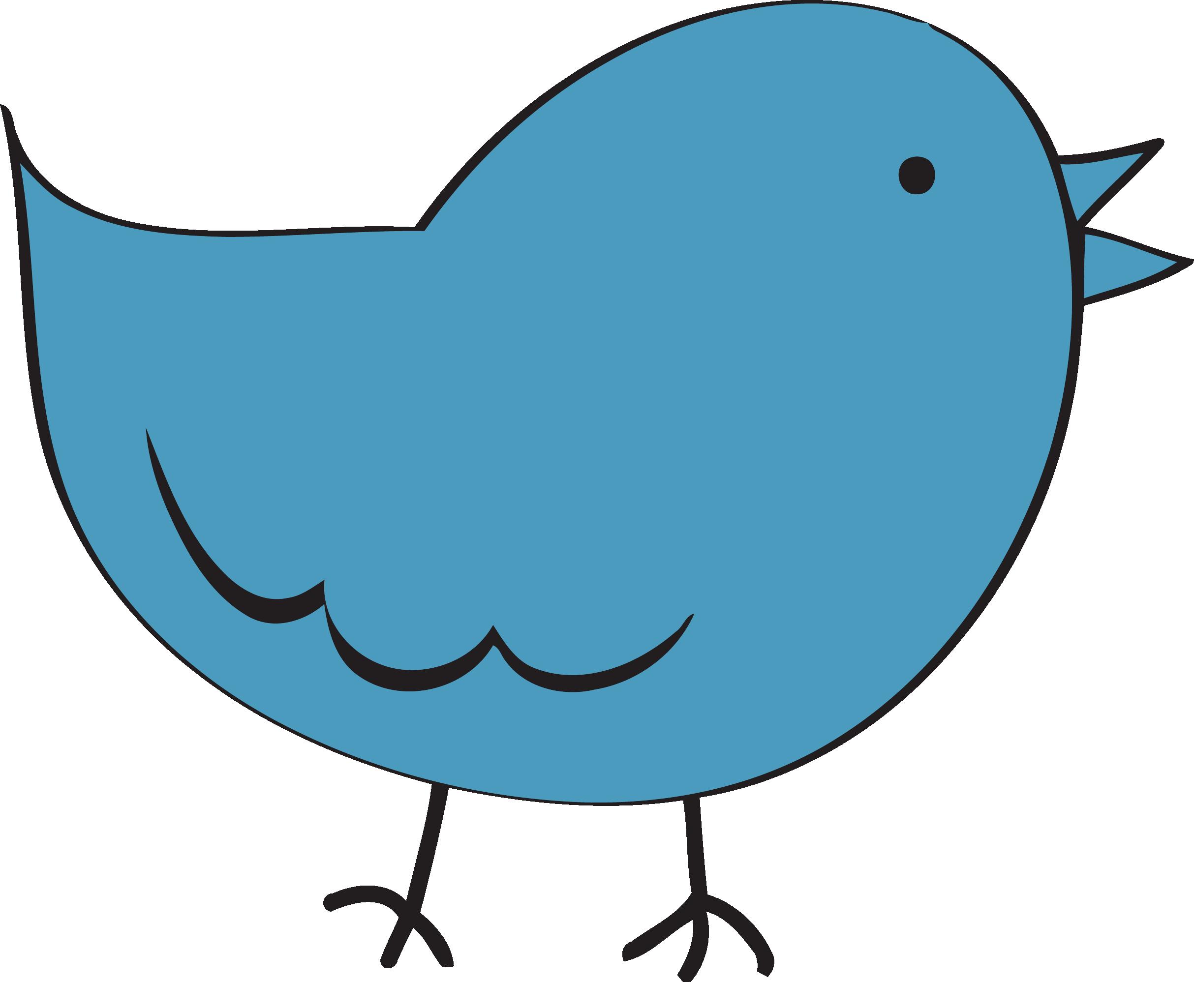 2427x1997 Steel Blue Cute Bird Fat Clipart Png