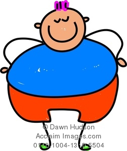 252x300 Fat Child Clipart Amp Stock Photography Acclaim Images