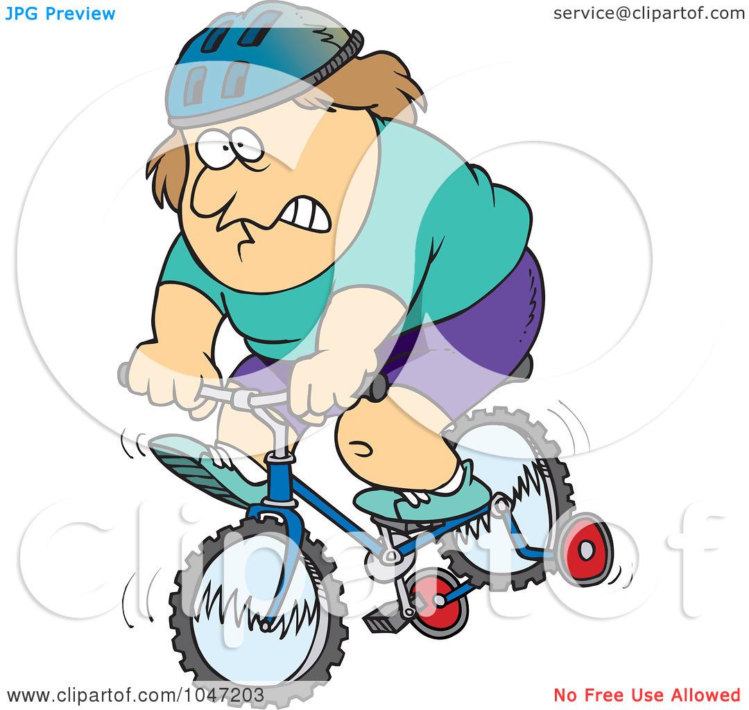 1080x1024 Fat Man Bike Clipart