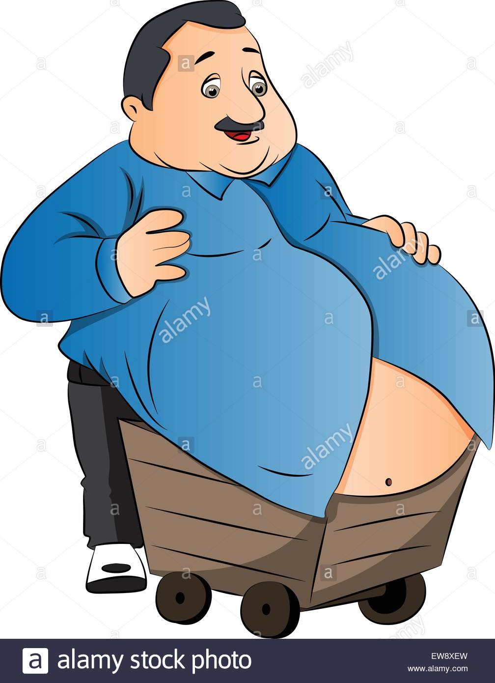 1008x1390 Obese Man Stock Vector Images