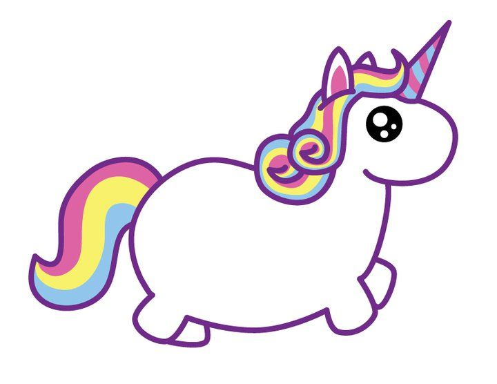 720x556 Fat Unicorn Cutezine Cute Onlineinternational! Dorky Dino Usa