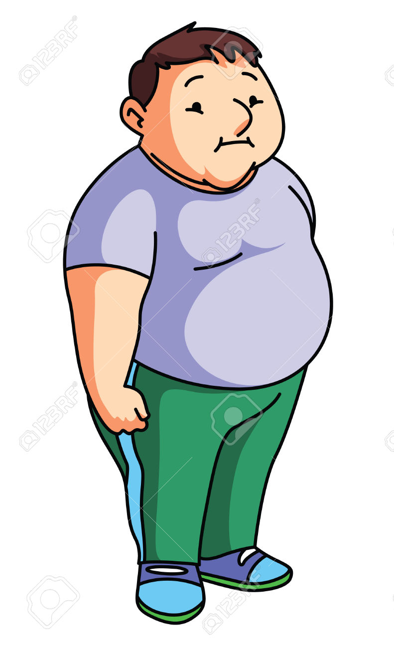791x1300 Overweight Clipart