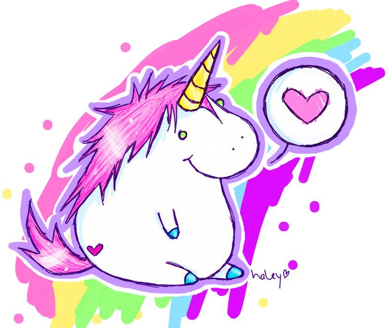 785x664 Fat Unicorn By Sprinklexeater
