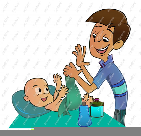 600x579 Father Son Clipart Free Images