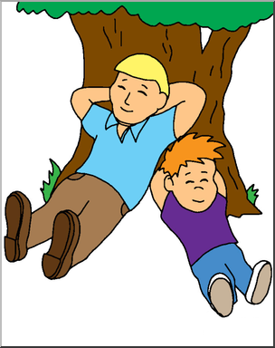 304x384 Clip Art Family Father And Son Color I Abcteach