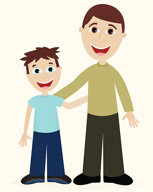 490x612 Father And Son Clipart Desktop Backgrounds