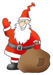 185x264 Funny And Free Santa Claus Clipart.