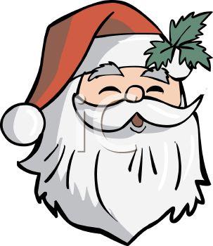 303x350 Laughing Santa Clip Art 101 Clip Art