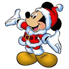 236x236 Mickey Mouse Xmas Clip Art Images. Click On Image To Enlarge Then
