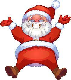 236x266 Natal Personagens Christmas Clip Art, Santa
