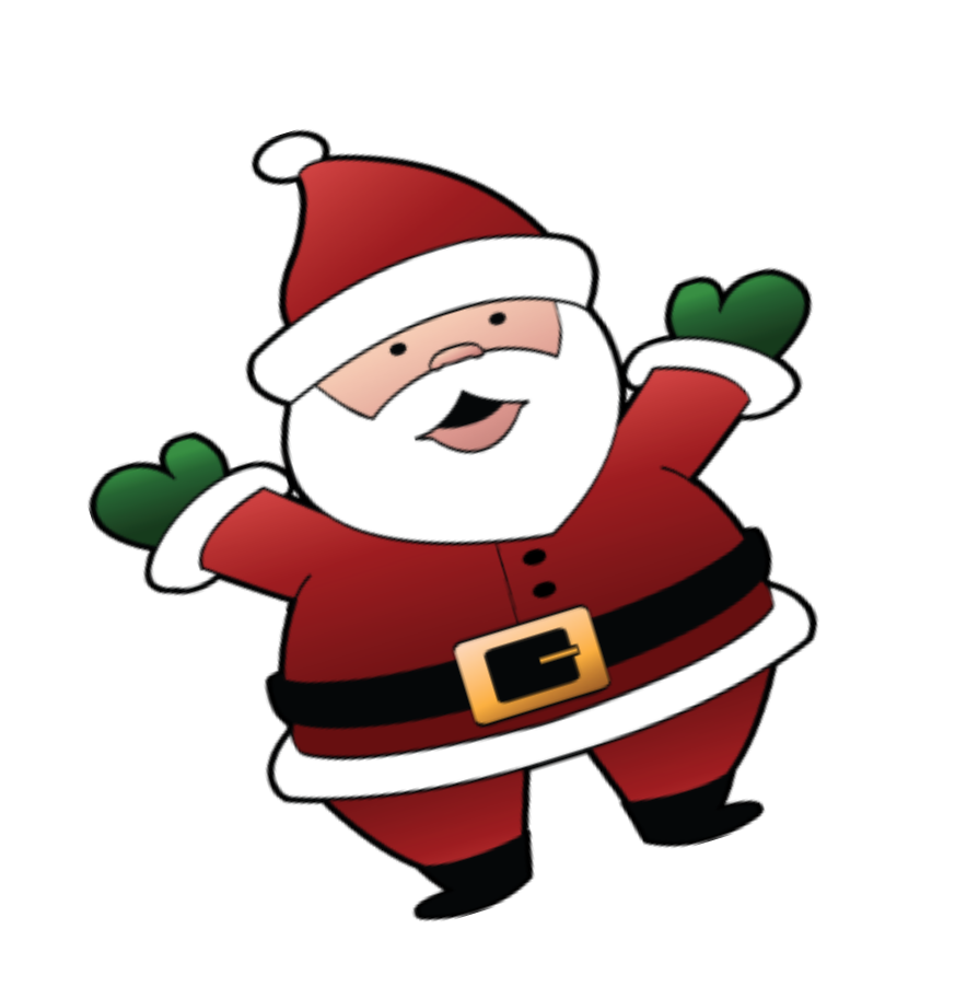 873x902 Santa Christmas Clip Art