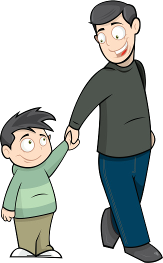 326x526 Father's Day Clipart