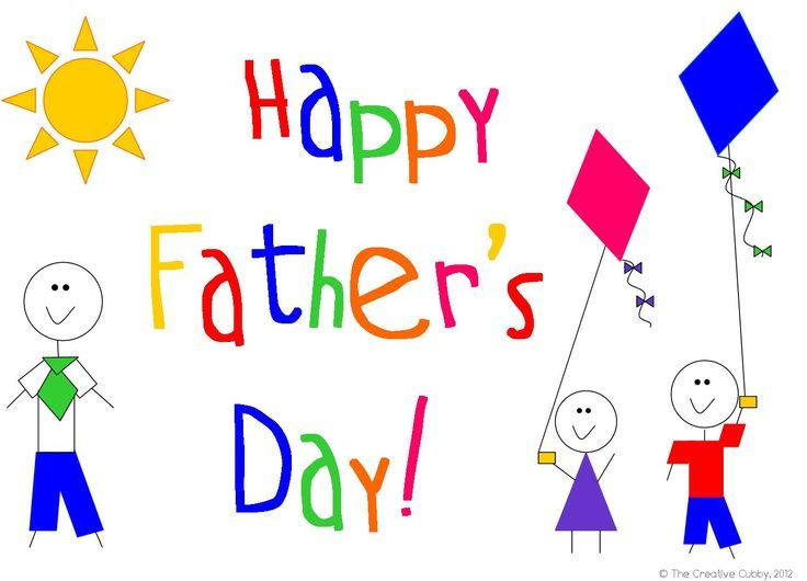 Fathers Day Card Clipart