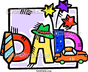300x244 Father's Day Motif Clip Art