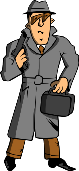 276x592 Spy Clip Art