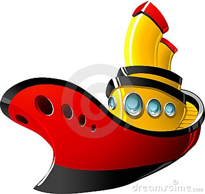 400x379 Clip Art Cartoon Tugboat Clipart Lpufbiy