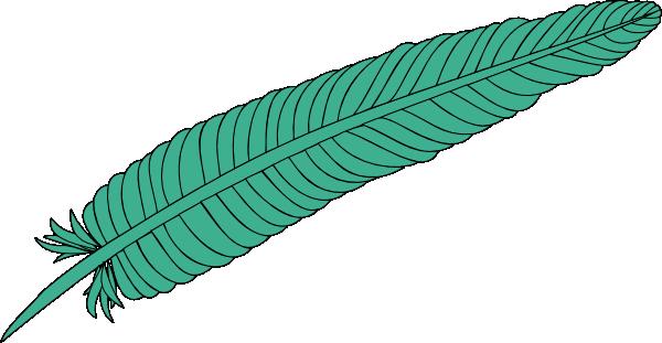 600x311 Feather Clip Art