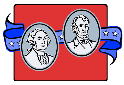 405x278 Presidents Clipart February