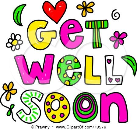Feel Better Soon Clipart