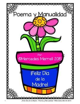 270x350 Feliz De La Madre! Poema Y Manualidad K 3 By Mercedes Merrell