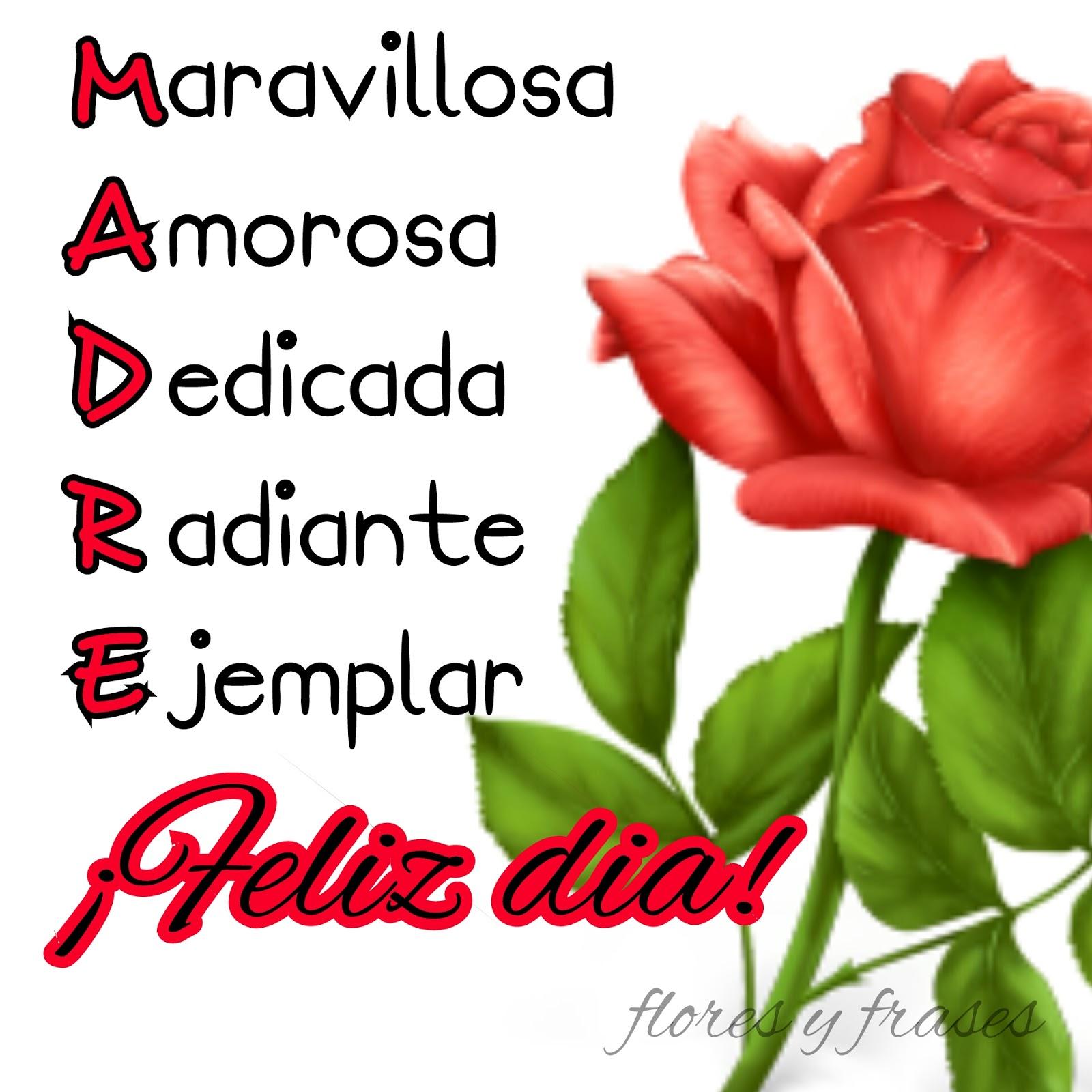 1600x1600 Flores Y Frases Postales Y Mensajes Para Las Madres En Su Dia