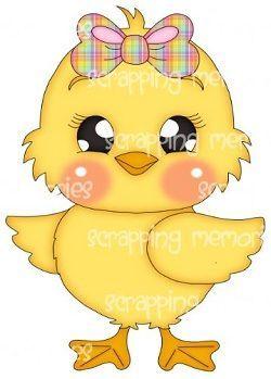 250x349 Pollito. Dibujo A Color Aves Manualidades, Easter