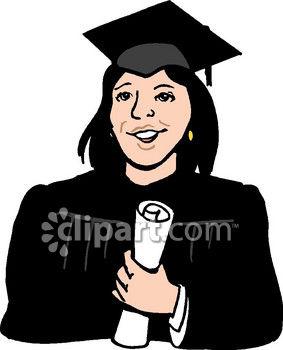 283x350 Woman College Graduate Clip Art