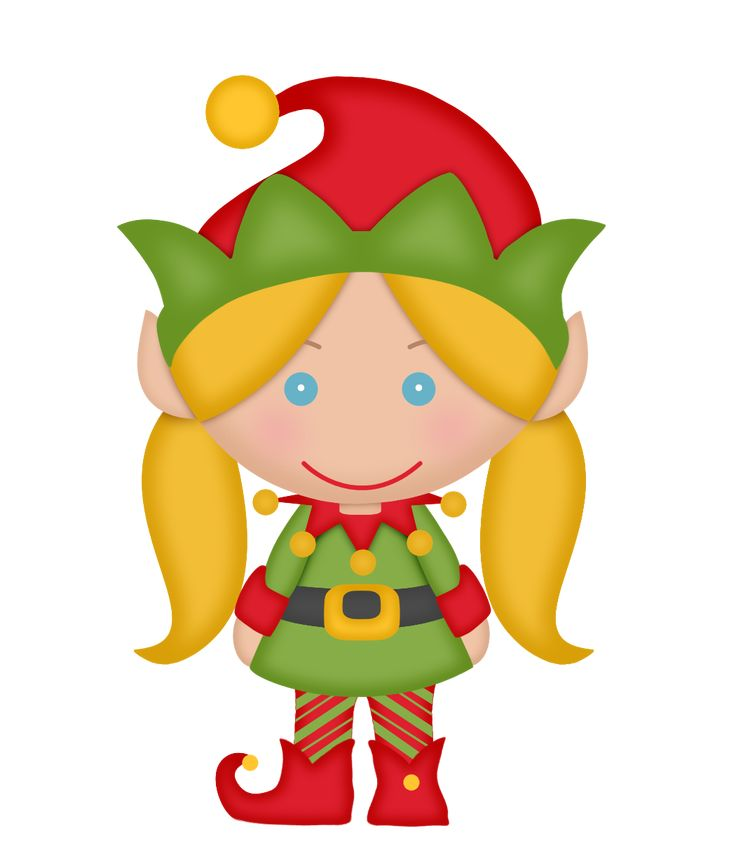 Female Elf Clipart