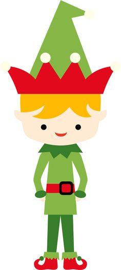 236x527 Christmas Elf Clipart