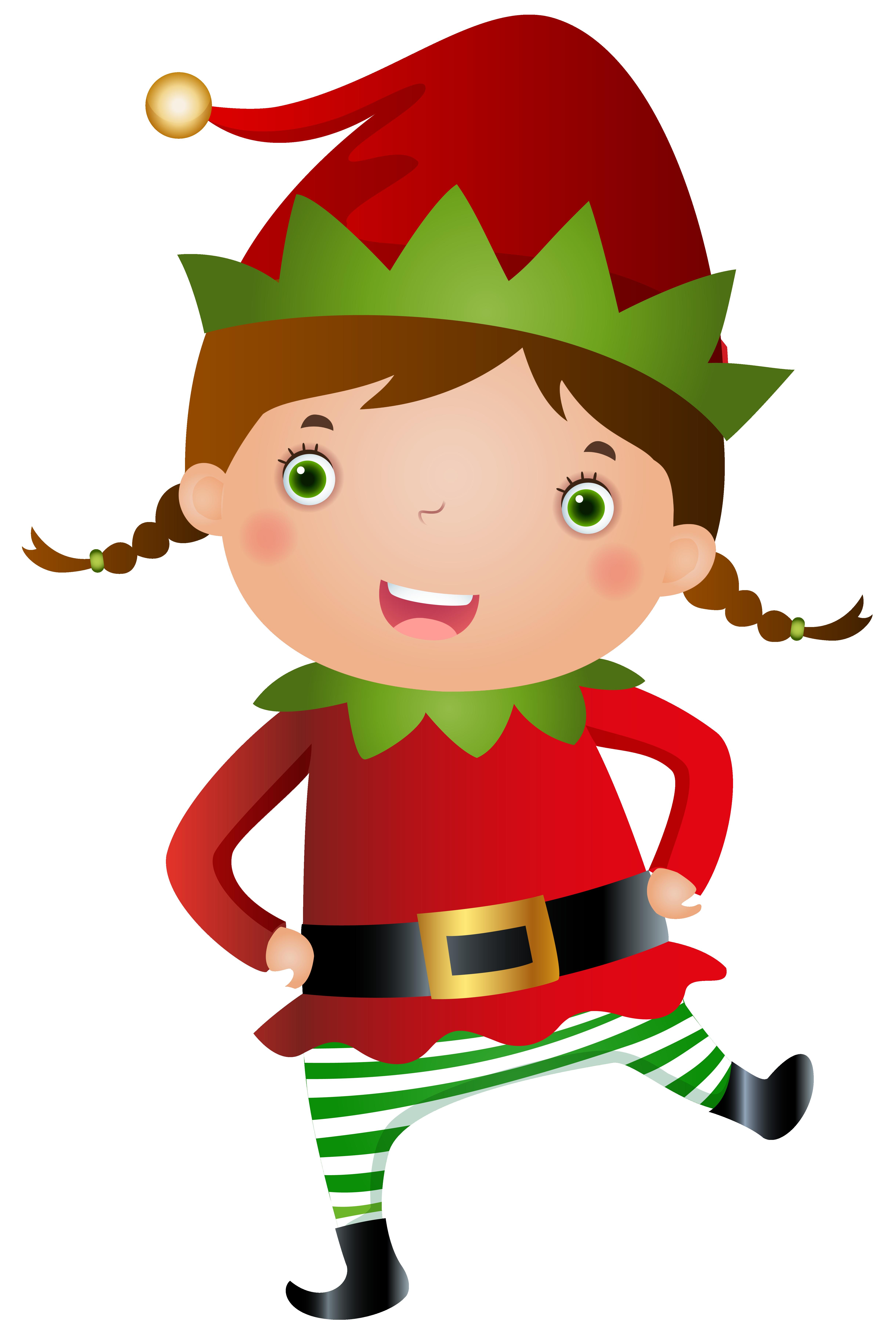 4882x7262 Elf Clipart Female Elf