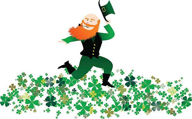Female Leprechaun Clipart