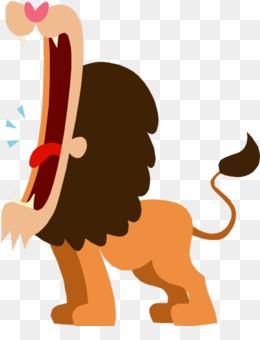 260x340 Lion Roar Clip Art
