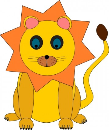 357x425 Awesome And Beautiful Baby Lion Clipart Clip Art Library