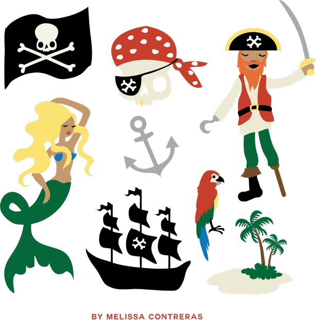 Female Pirate Clipart