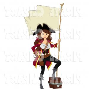 300x300 Kids Girl Pirate Cartoon Vector Arenawp