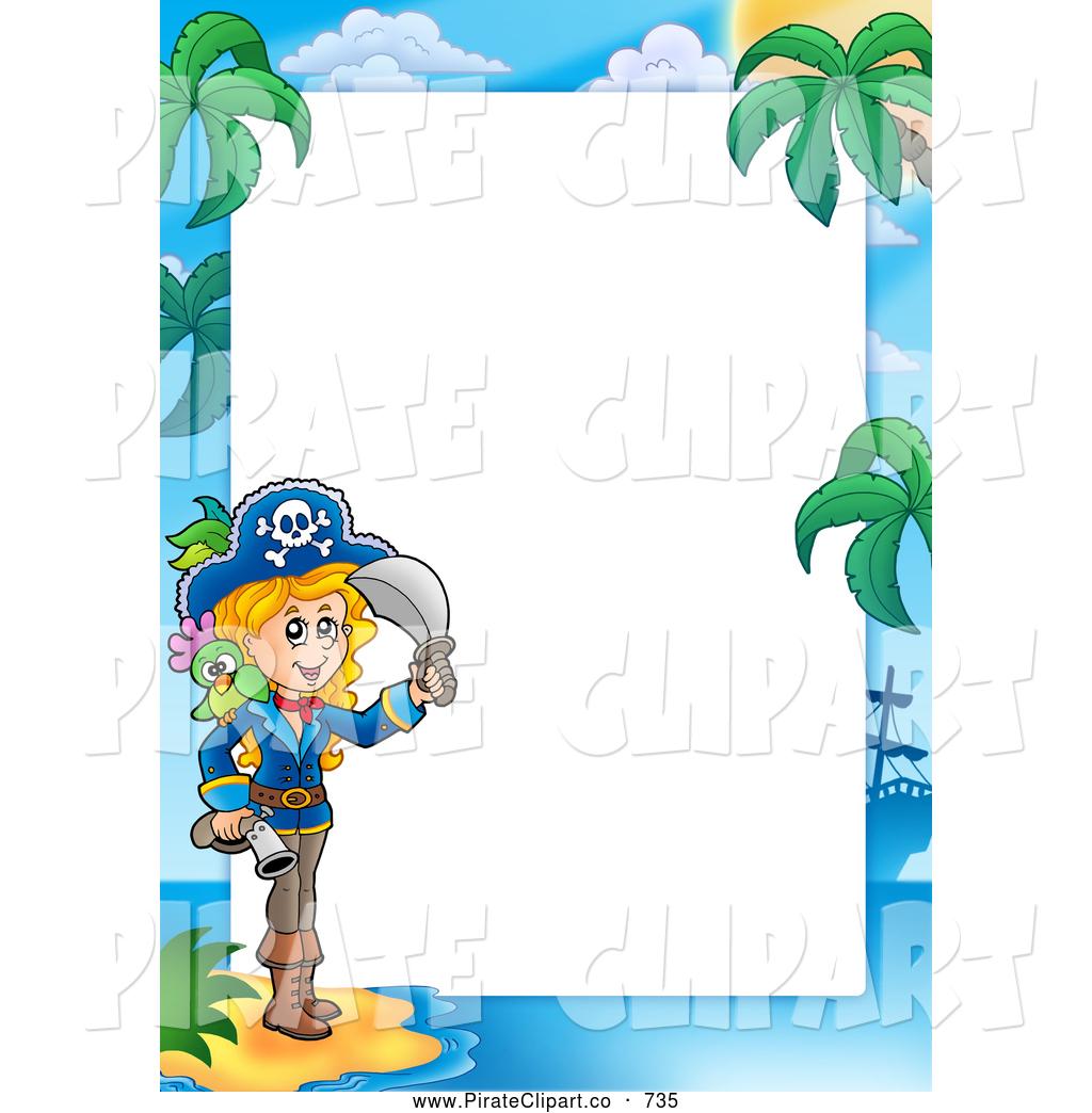 1024x1044 Pirate Clip Art Border