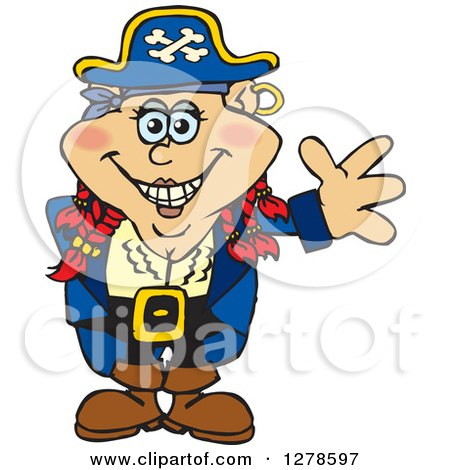 450x470 Royalty Free (Rf) Female Pirate Clipart, Illustrations, Vector