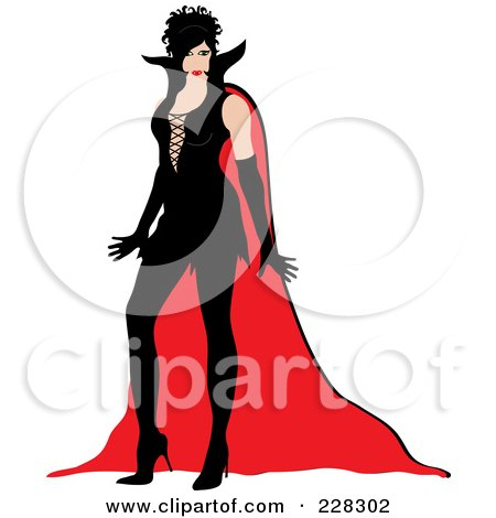 450x470 Royalty Free (Rf) Vampire Costume Clipart, Illustrations, Vector