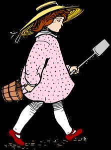 223x300 9245 Cartoon Clip Art Girl Public Domain Vectors