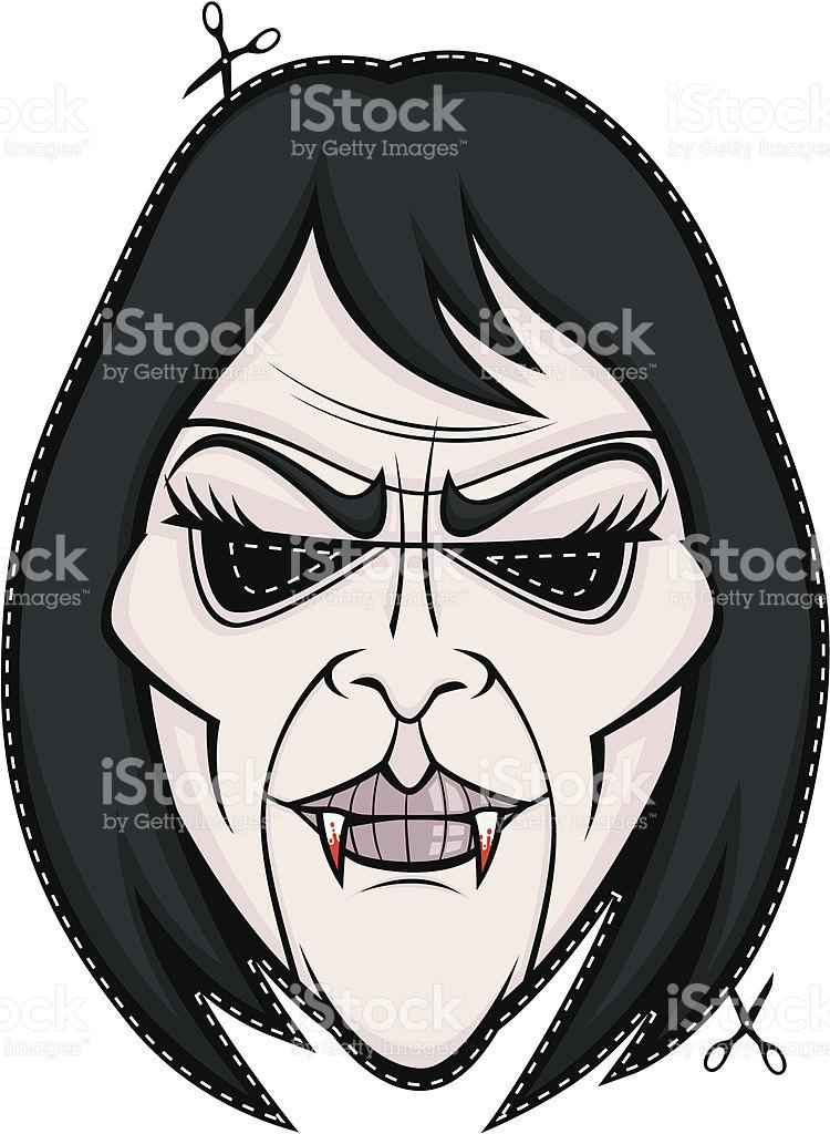 750x1024 Vampire Clipart Mask