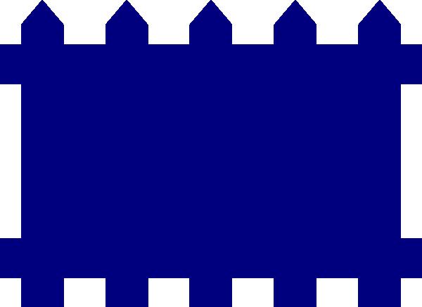 600x437 Fence Clip Art