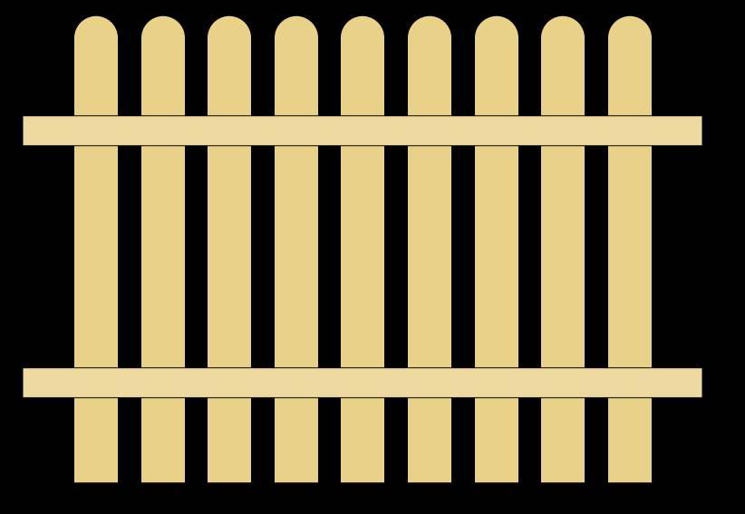 822x567 Garden Fence Clip Art Garden White Fence Clip 50777